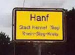 Lustige germanische Ortsnamen