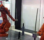 Duell der Roboter