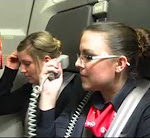 Schwäbische Stewardess